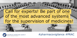 Join @EMA_News #Pharmacovigilance Risk Assessment Committee #PRAC #medicines #EU https://t.co/oY243clLns https://t.co/vodOtOvMOZ