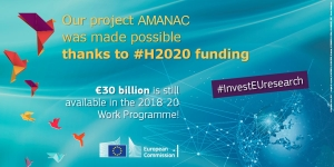 Our project @Amanac_eu was made possible thanks to #H2020 #InvestEUresearch! https://t.co/UwCpZMrUdb