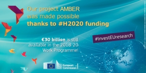 Our project @AMBERtools was made possible thanks to #H2020 #InvestEUresearch! https://t.co/SmEL5IMbAB