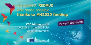 Our project @ETN_MSCA_REDMUD was made possible thanks to #H2020 #InvestEUresearch! https://t.co/r0aZEE1IkT