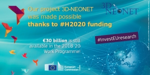 Our project @3dneonet was made possible thanks to #H2020 #InvestEUresearch https://t.co/KNIgyvDrnD