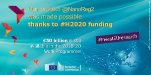 Our project @NanoReg2 was made possible thanks to #H2020 #InvestEUresearch! https://t.co/ELb8bSmMdn