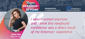 Through #ErasmusPlus, Grete changed her mindset & found confidence. Check out her story @ https://t.co/eOTeIg6bsw https://t.co/9CEowwpaKX