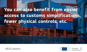 AEO companies can benefit from fewer security/customs controls. Who can become an AEO? https://t.co/M90Mfcq8rp https://t.co/LqhzMrWEi9
