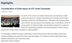 On the @EP_BudgControl agenda on Monday: Youth Guarantee cost effectiveness: https://t.co/p8EOCsLowY https://t.co/XZ9RwOE5NI