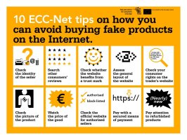 Avoid buying fakes online. Here are 10 tips to spot a fake. Be #scamaware #ecc_web https://t.co/7bS9e7Shih
