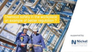 Chemical safety in the workplace: an example of better regulation ?