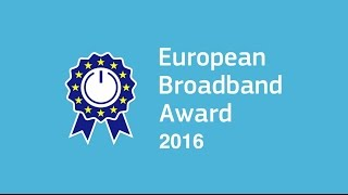 European Broadband Award 2016