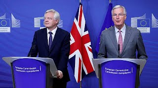 'Time to get down to work': EU and UK resume Brexit talks
