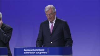 #Brexit: Organisation, presentation, next stage is clarification - Barnier