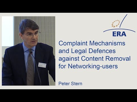 Complaint Mechanisms and Legal Defences against Content Removal for Networking-users