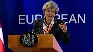 Brexit: 'It's time to get on with leaving', May
