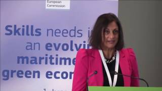 High-level event on skills needs in an evolving maritime green economy, Part 1