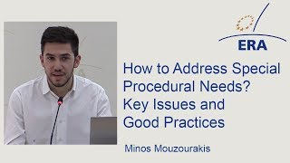 Asylum Law: How to Address Special Procedural Needs? Key Issues and Good Practices