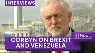 Jeremy Corbyn - full Jon Snow interview on Brexit, Venezuela and anti-Semitism