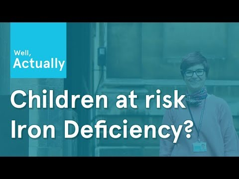 Children at risk of iron deficiency? | Well, Actually | Ep.1
