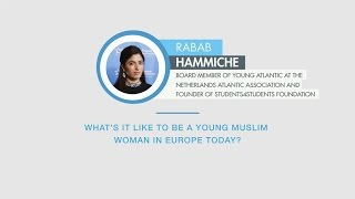 Rabab Hammiche responds to a question on Muslim women