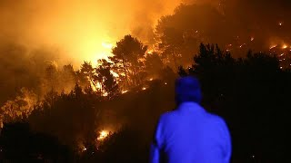 How Europe's forest fires have more than trebled in 2017