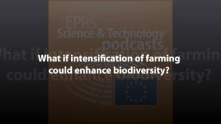 What if intensification of farming could enhance biodiversity? [Scientific and Foresight Podcast]
