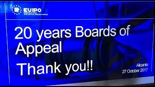 20th Anniversary of the EUIPO Boards of Appeal
