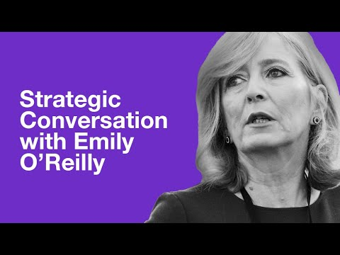 Strategic Conversation with Emily O'Reilly, European Ombudsman