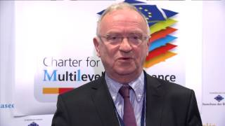 CoR Van Den Brande presents the Charter on Multilevel Governance (03/04/14)