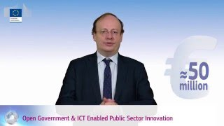 eGovernment in H2020: Digital, open and collaborative government