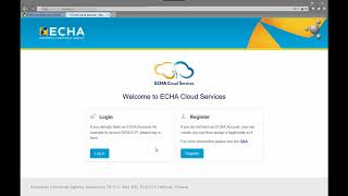 How to access ECHA Cloud and subscribe to the IUCLID Cloud Services