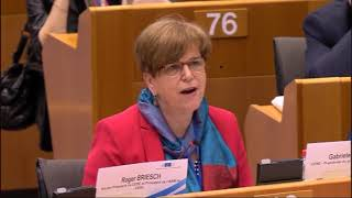Keynote by Gaby Bischoff, President of EESC's Workers Group