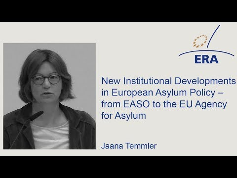 New Institutional Developments in European Asylum Policy – from EASO to the EU Agency for Asylum