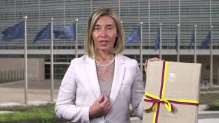 Federica Mogherini on the signing of the peace agreement in Colombia