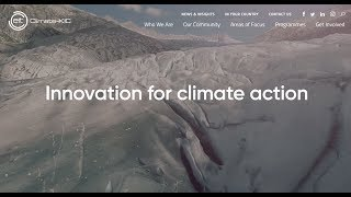 Climate-KIC's new website: Innovation for climate action