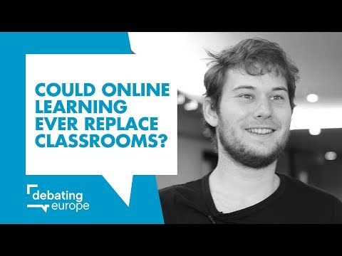 Could online learning ever replace classrooms? - Niklas Nienaß