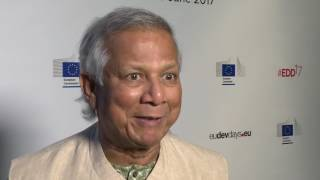 EDD17 - Buzz - Professor Muhammad Yunus - Special event with SDGs advocates