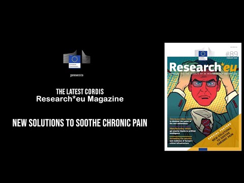 Research*eu issue 89: New solutions to soothe chronic pain