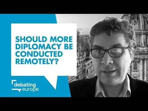 Should more diplomacy be conducted remotely? - Prof. Corneliu Bjola