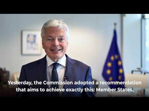 European Commissioner for Justice Didier Reynders: message for BEUC General Assembly May 2020