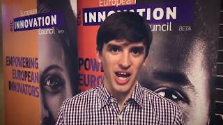 Tom Carter from Ultrahaptics: 'Big thanks to European Commission for support!'