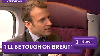 "Emmanuel Macron interview (English): Getting ""tough"" on Brexit"