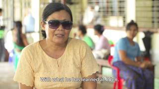 Myanmar - Caring for people with disabilities