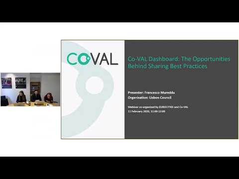Webinar: Co-VAL Dashboard: The Opportunities Behind Sharing Best Practices