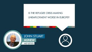 John Stuart Agnew comments on refugees and unemployment in Europe
