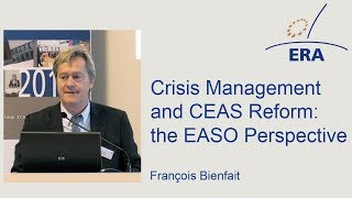 Crisis Management and CEAS Reform: the EASO Perspective