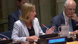 "Mogherini announces ""Brussels process"" for Syria at UNGA"