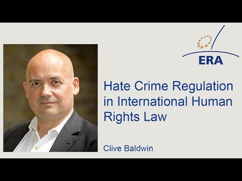 Hate Crime Regulation in International Human Rights Law