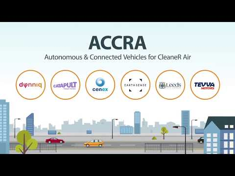 Autonomous & Connected Vehicles for CleaneR Air - ACCRA, Leeds, June 2018