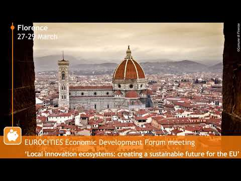 EUROCITIES Economic Development Forum_March 2019 _Keynote speaker