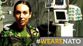 The Portuguese military doctor - #WeAreNATO