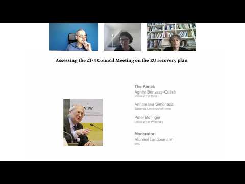 Online panel discussion: Assessing the 23/4 Council Meeting on the EU recovery plan