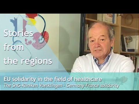 Stories from the regions - EU solidarity in the field of healthcare: Germany-France